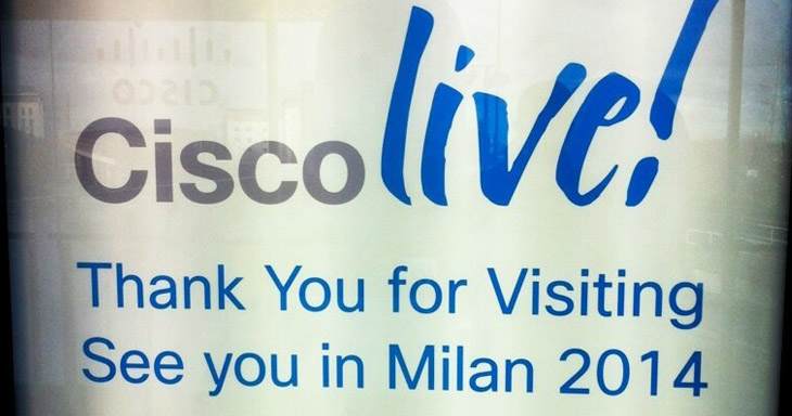 Cisco Live Milan 2014