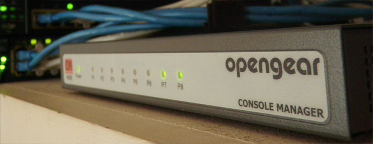 console manager opengear