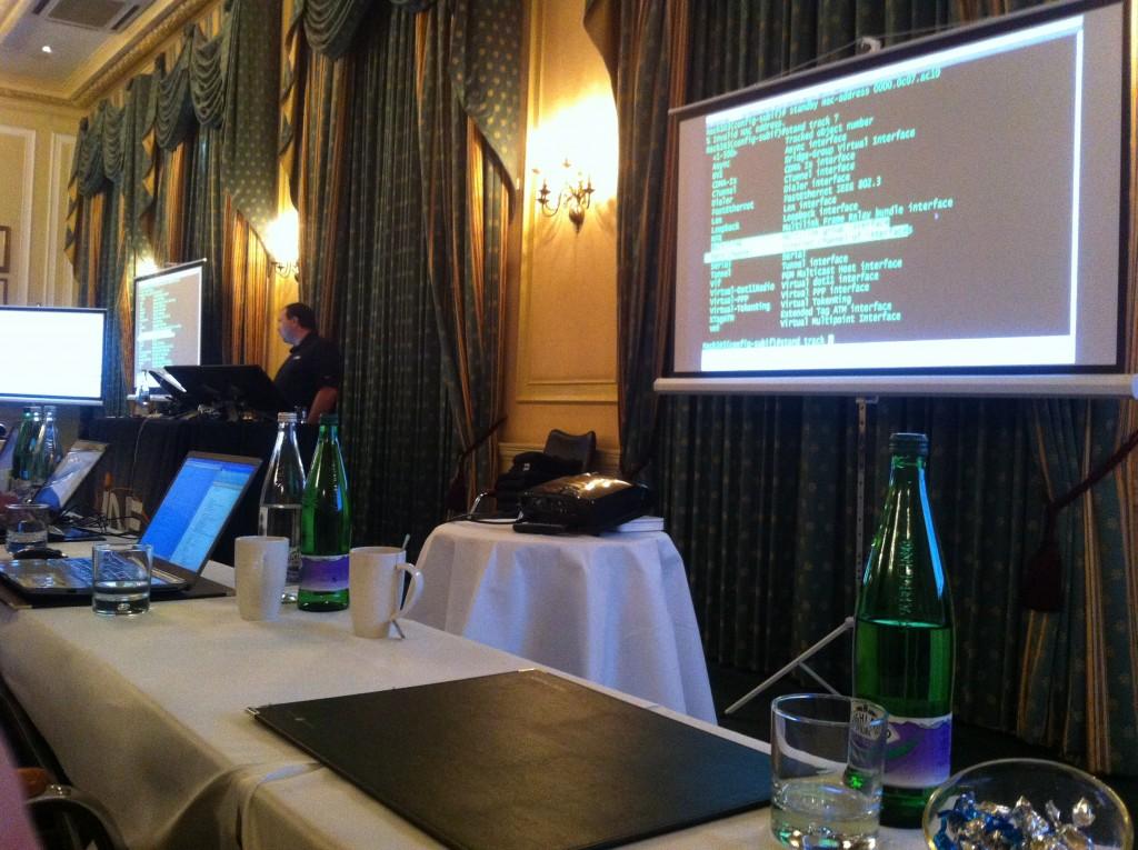 Bootcamp CCIE R&S par INE à Londres en 2013
